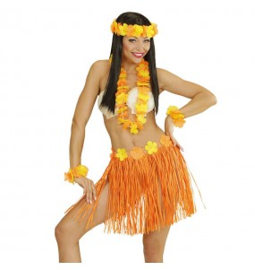 Set Hawaii Naranja