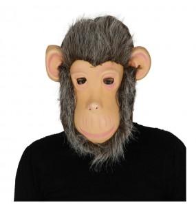 Careta Chimpancé con Pelo