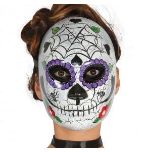 Máscara Catrina Esqueleto Mexicano
