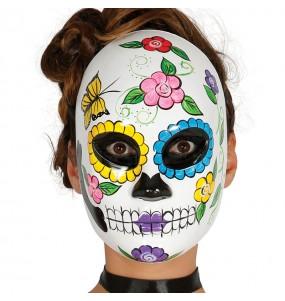 Máscara Catrina Esqueleto Día de los Muertos