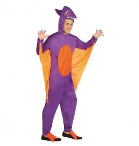 Disfraz de Dragón Morado