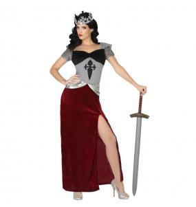 Disfraz de Soldado Medieval Mujer