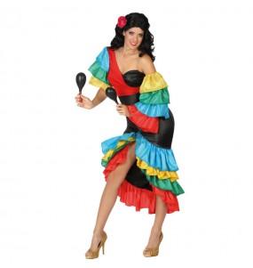 Disfraz de Rumbera Tropical