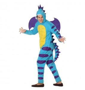 Disfraz de Dragón Azul