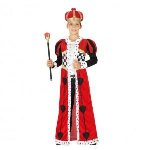 Disfraz de Rey de Corazones Infantil