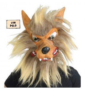 mascara de lobo hombre