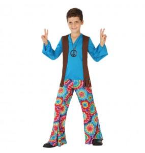 Disfraz de Hippie Flower Niño