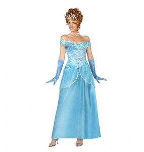 Disfraz de Princesa Cenicienta Larga
