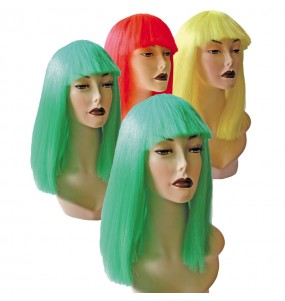 Peluca Cleopatra Colores