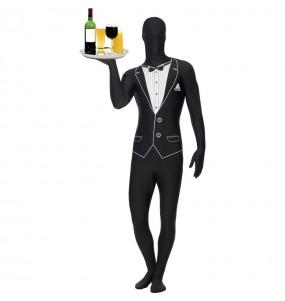 Disfraz Camarero Esmoquin – Segunda Piel