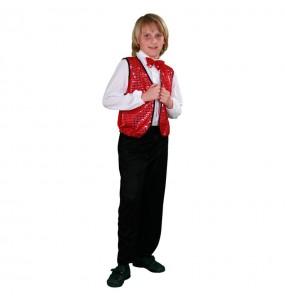 Disfraz de Charleston rojo chico