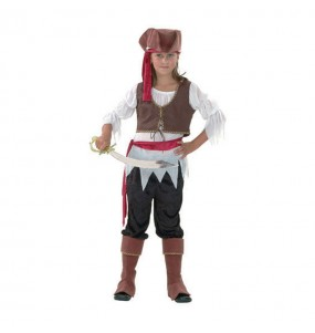 Disfraz de Pirata Bucanera para niña