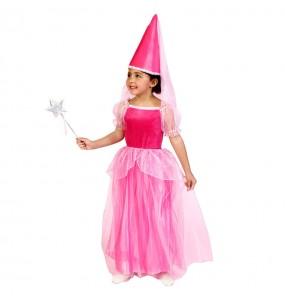 Disfraz de Hada Rosa para niña