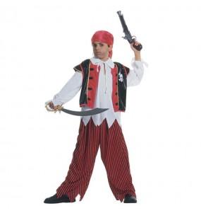 Disfraz de Pirata Caribe niño
