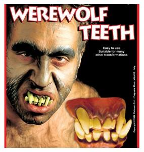 Dentadura hombre lobo