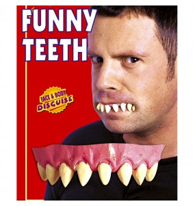 Dentadura colmillos