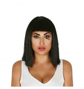 Peluca Negra Cleopatra