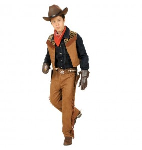 Disfraz de Vaquero Lujo infantil