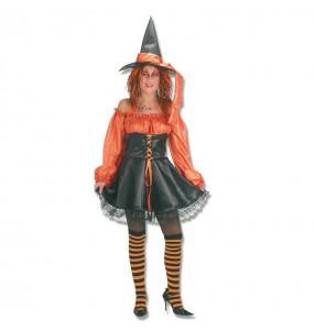 Disfraz de Bruja Naranja