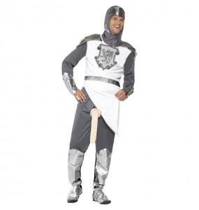 disfraz de caballero medieval bien dotado hombre caballero