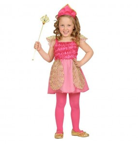 Disfraz de Princesa Rosa bebé