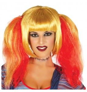 Peluca de Novia Chucky