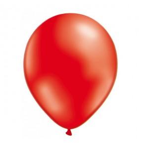 50 Globos Metalizados rojo helio