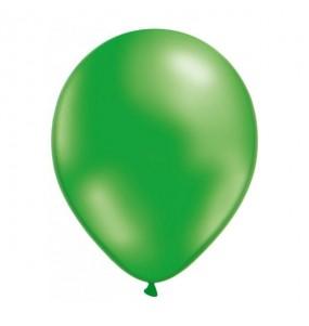50 Globos Metalizados Verde helio
