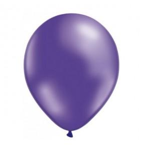 50 Globos Metalizados Violeta helio