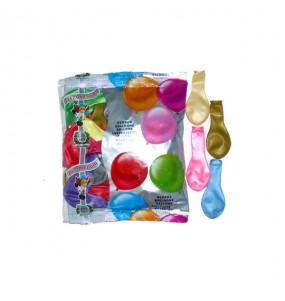 50 Globos Metalizados Multicolor helio