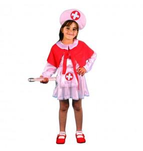 isfraz de Enfermera para niña