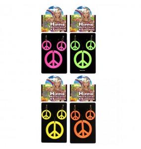 Colgante y Pendientes Hippie
