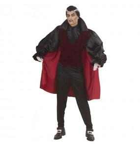 Disfraz de Vampiro rojo adulto