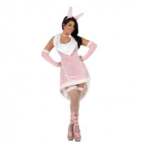 Disfraz Conejita Sexy rosa