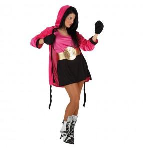 Disfraz de Boxeadora para chica