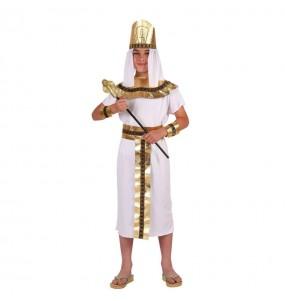 Disfraz de Egipcio Blanco infantil