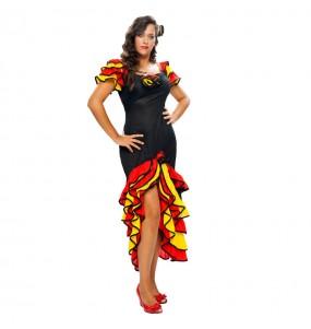disfraz de flamenca rumbera