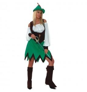 Disfraz de Mujer del Bosque adulto