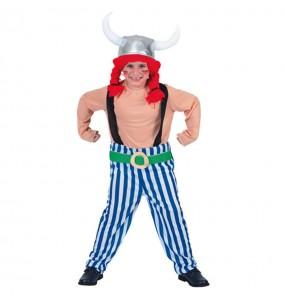 Disfraz de Galo Obelix niño