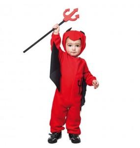 Disfraz de Demonio Rojo peque