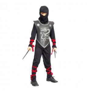 Disfraz de Ninja guerrero japonés