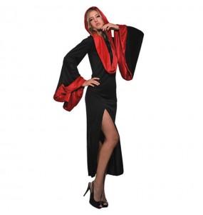 Disfraz de Vampiresa con capucha