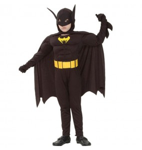 Disfraz de Batman Musculoso infantil