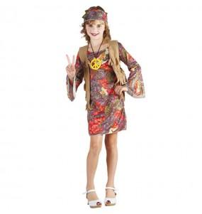 Disfraz de Hippie Estampada