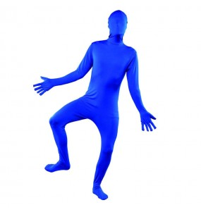 disfraz de Sombra Azul Segunda Piel