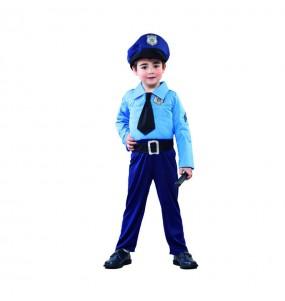 Disfraz de Policía Azul peque