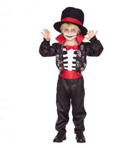 Disfraz Esqueleto Catrín para niño