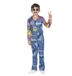 disfraz hippie vaquero niño infantil