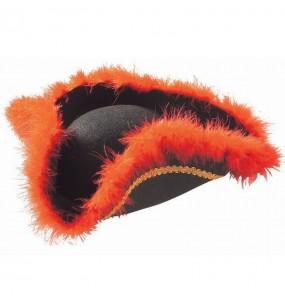 Sombrero pirata lujo