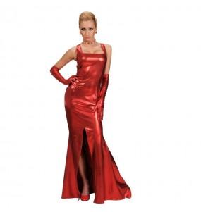 Disfraz de Fiesta Rojo